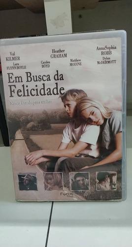 Em Busca Da Felicidade -dvd Original