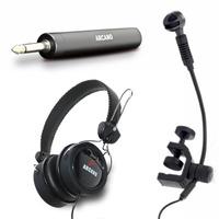 1mic Wsz-3000 Plug P2 Nativo+adapt P10 Pilha+ 1 Fone Live-11
