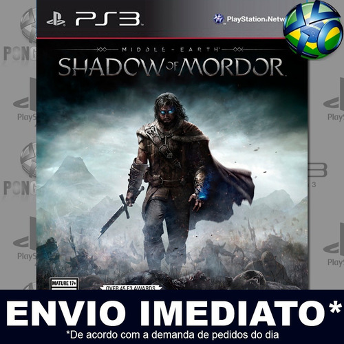 Middle Earth Shadow Of Mordor Legion Edition Ps3 Psn Play 3 Original