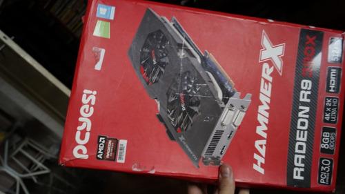 Placa De Vídeo Pcyes Amd Radeon R9 390x 8gb Gddr5 (defeito)