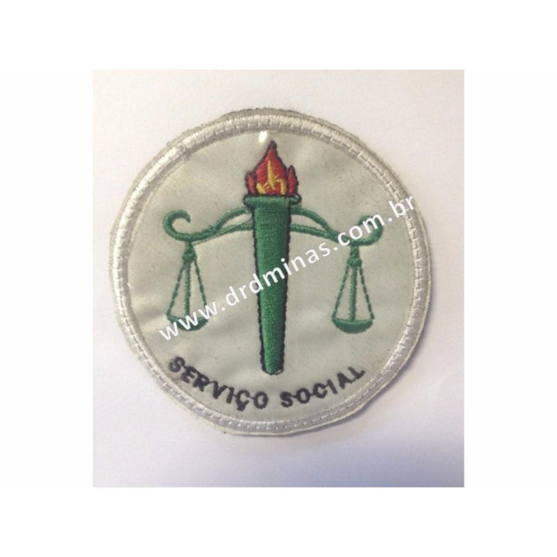 Patch / Distintivo Bordado Serviço Social