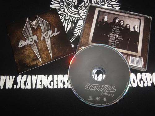 Cd Overkill - Killbox13 Original