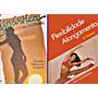 2 Livros Ginástica Estética Alongamento Flexibilidade Tânia