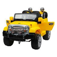Jipe Trilha com Controle Remoto - Amarelo - 927600 - Bel Brink