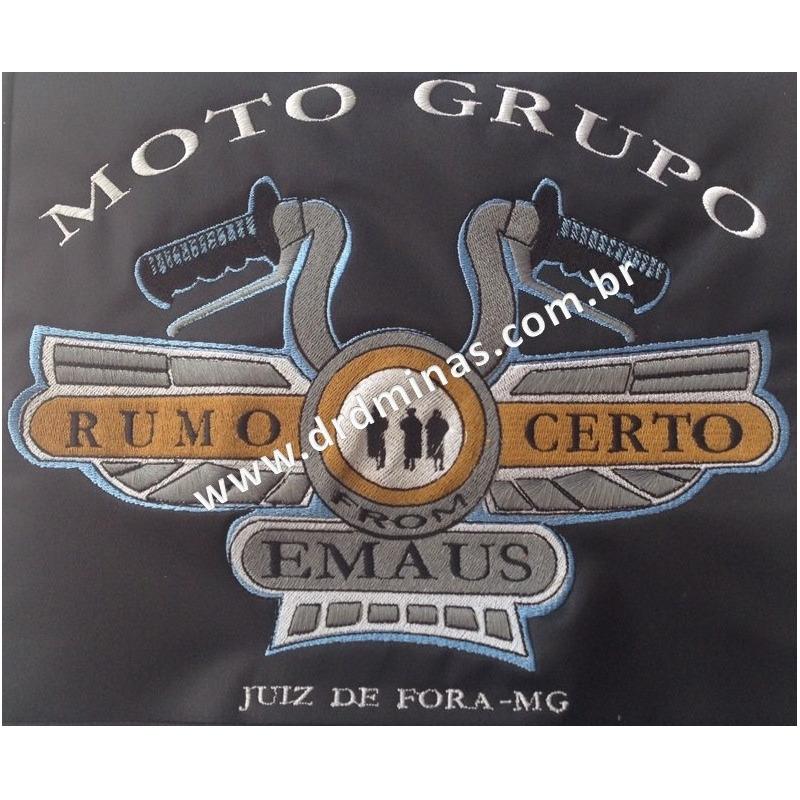 Distintivo Bordado MOTO GRUPO 24 X 18