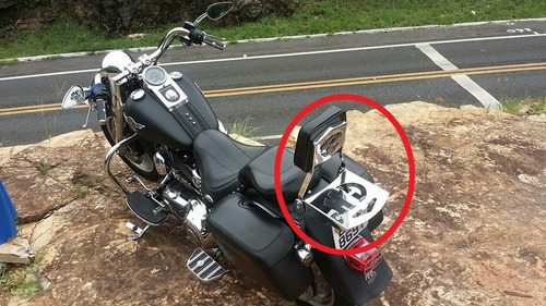 Encostro Traseiro Harley Davidson Fat Boy Dalavas Original