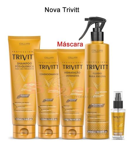 Combo Profissional Nova Trivitt 05 Produtos - Itallian Color Original