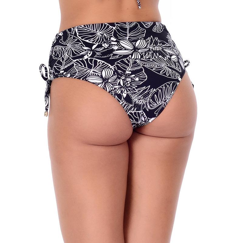 Calcinha Summer Soul Hot Pants Com Amarração Lis Preto