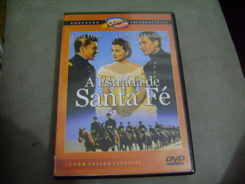 Dvd Estrada De Santa Fe  Errol Flynn  Olivia De Havilland Original