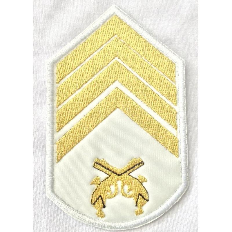 Divisa 2° Sargento  bordada casamento - PAR