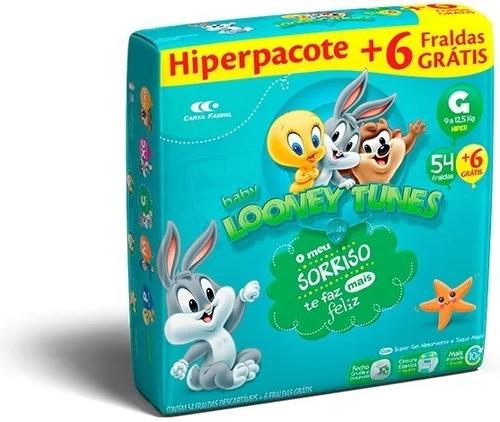 Fralda Descartável Infantil Baby Looney Tunes Atacado Barato Original