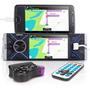 Central Multimídia Universal Bluetooth Espelhamento 1 Din