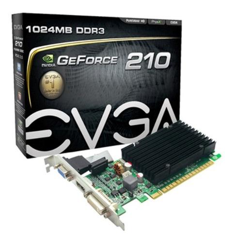Placa De Video Vga Evga Gt210 Geforce 1gb Ddr3 Hdmi Lacrado Original