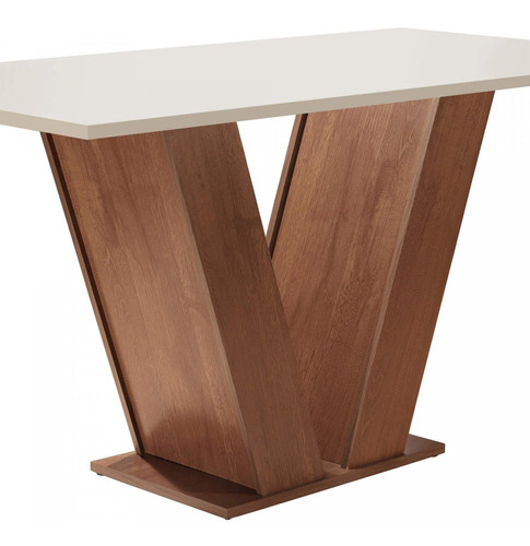 Mesa De Jantar Tampo Mdf 6 Cadeiras Espanha Espresso Ei Original