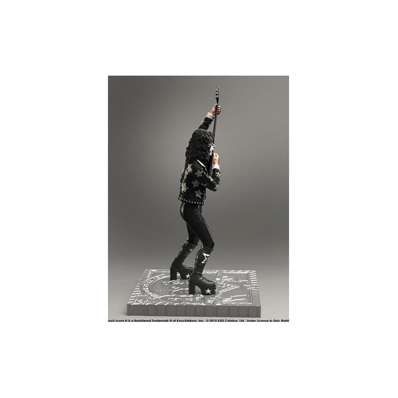 Estátua Kiss The Starchild - Hotter Than Hell KnuckleBonz - Rock Iconz Statue