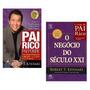 Kit Livros Pai Rico Pai Pobre O Negócio Século Xxi