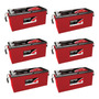 Kit 6 Baterias Estacionárias Freedom Df 3000 185 Amperes