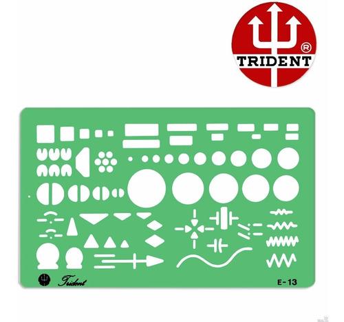 Gabarito Eletricidade P/ Eletricidade  E-13  Trident Original