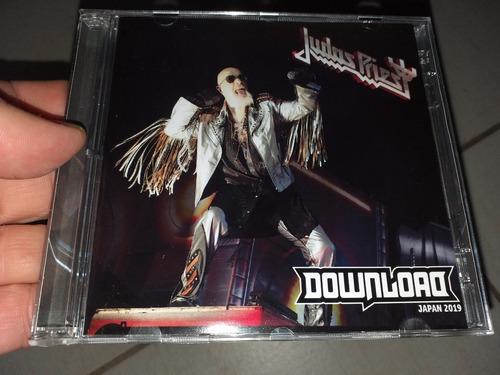 Judas Priest Cd Duplo Download Fest Japan 2019 Soundboard Original