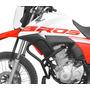 Protetor De Motor E Carenagem Scam C/ Pedal Bros 160 Bros160