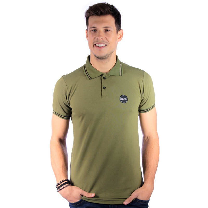 Polo Long Island Basic Verde Militar