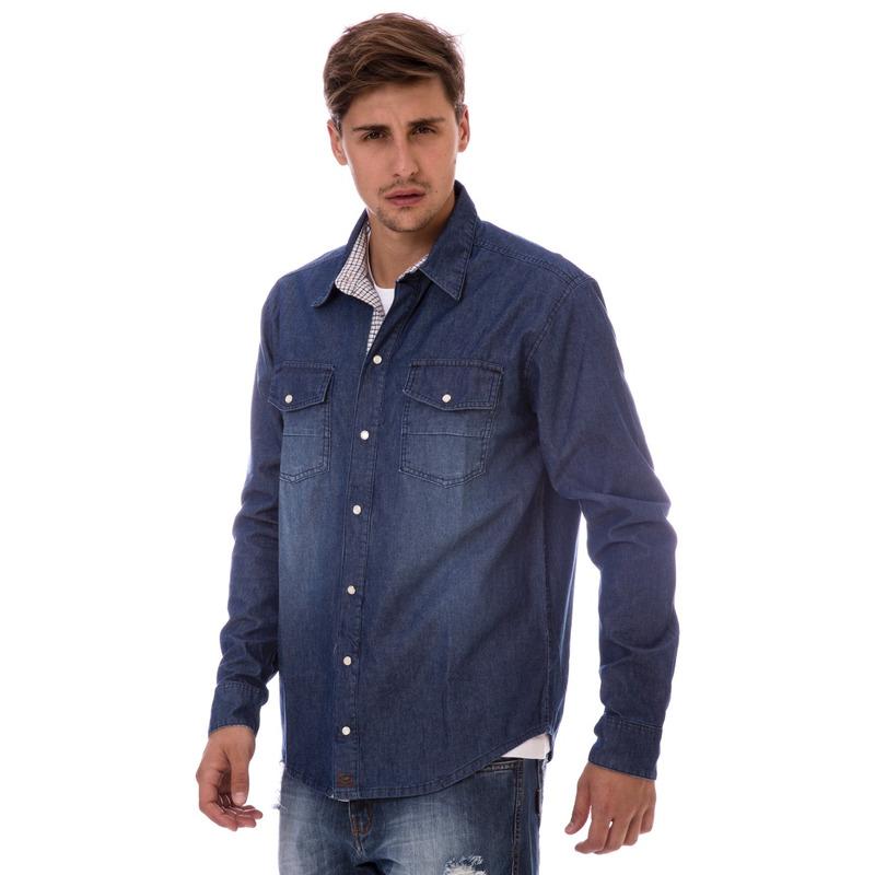 Camisa Jeans Long Island HL
