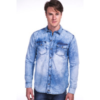 Camisa Jeans Long Island FT