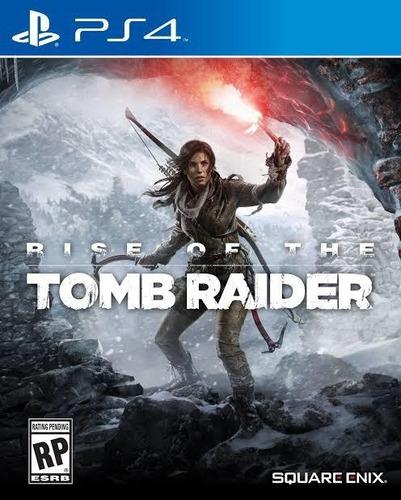 Rise Of The Tomb Raider Ps4 Mídia Digital Original