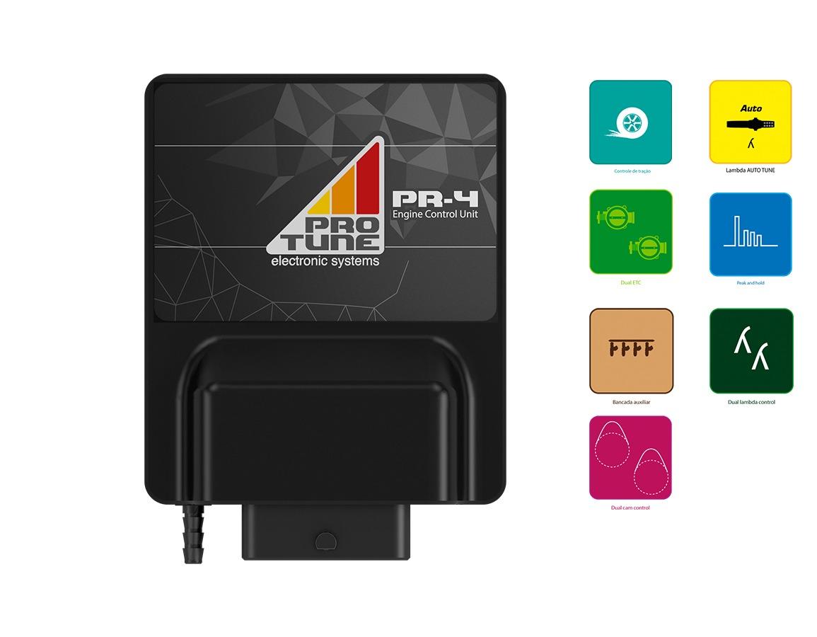ECU Pro Tune PR-4 com Pacote Habilitação Full