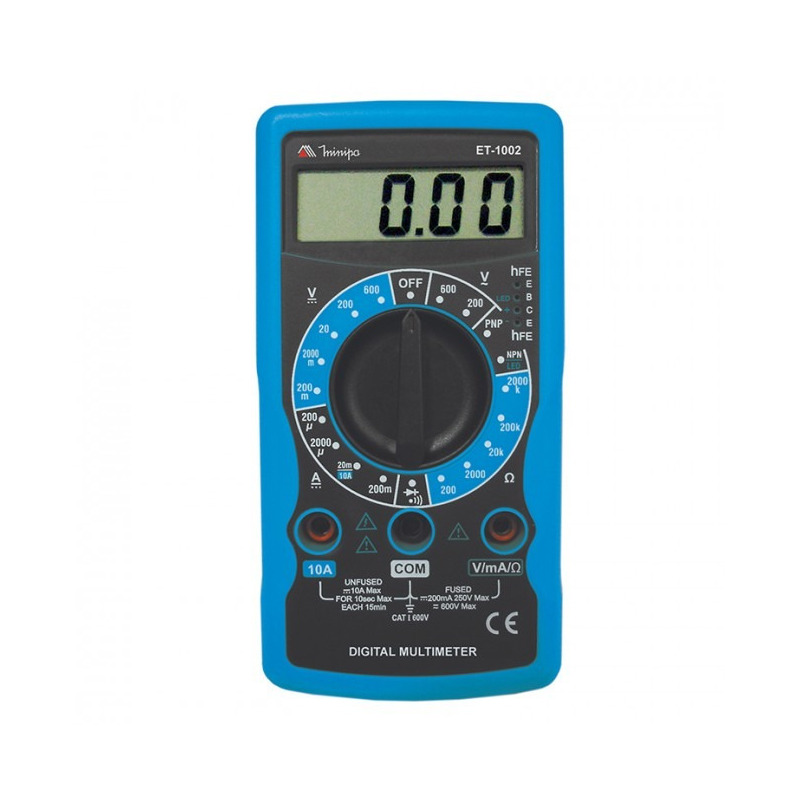 Multímetro digital 31/2D 10A-Minipa