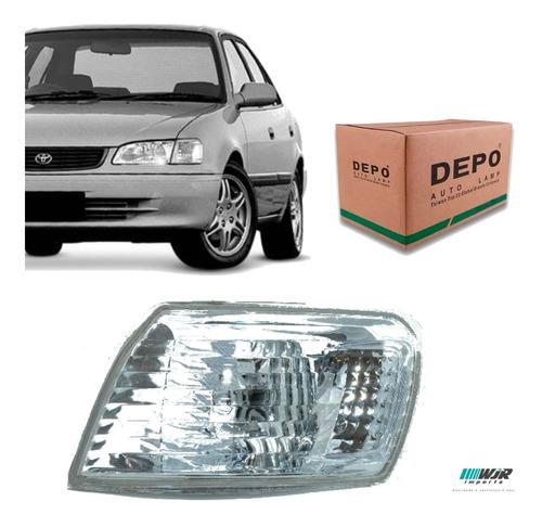Lanterna Dianteira Esquerdo Corolla 98 99 2000 2001 Original