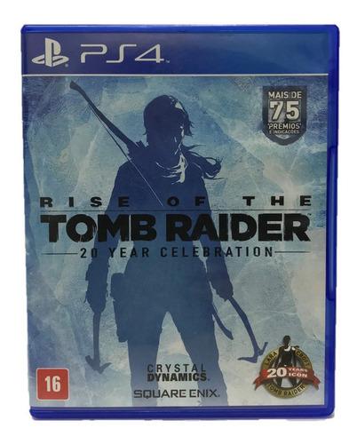 Rise Of The Tomb Raider - Mídia Física (ps4) Original