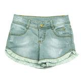 Short Jeans Desfiado Ser Garota