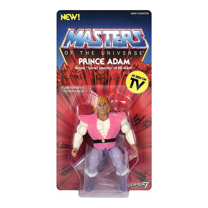 Prince Adam Vintage Masters Of The Universe - MOTU - Super7