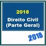 Direito Civil Parte Geral Sinopses P/ Concursos 2018