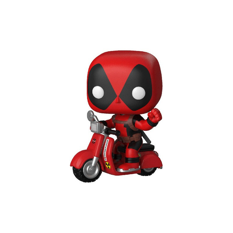 Deadpool on Scooter Pop Funko #45 - Marvel - Pop! Rides