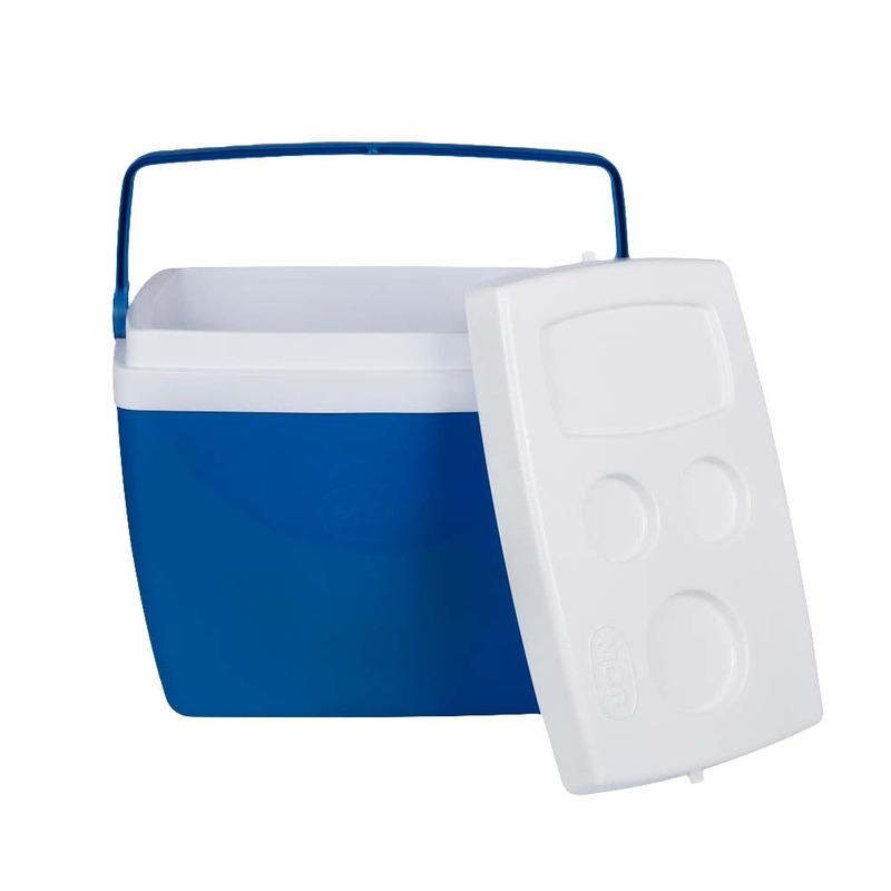 Kit Caixa Térmica 34 Litros Azul 25108161+ Piscina 400 Litros 001000 - Mor<BR><BR>
