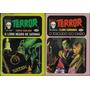 1976 2x Livreto De Bolso Série Terror Editora Cedibra