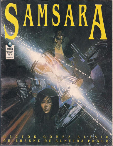 Quadrinhos Graphic Globo Nº 7 - Samsara Original