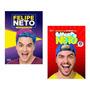 Kit 2 Livros Irmãos Neto Felipe Neto E Luccas Neto #