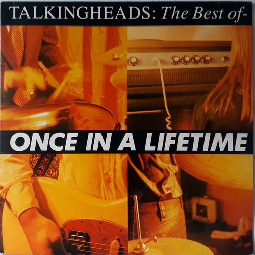 Lp - Talking Heads - The Best Of  - Once In A Lifetime 1992 Original