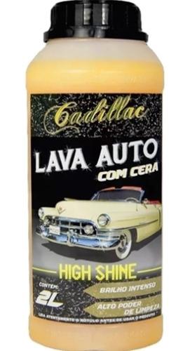 Shampoo Lava Auto High Shine Cadillac Com Cera 2 Litros Original
