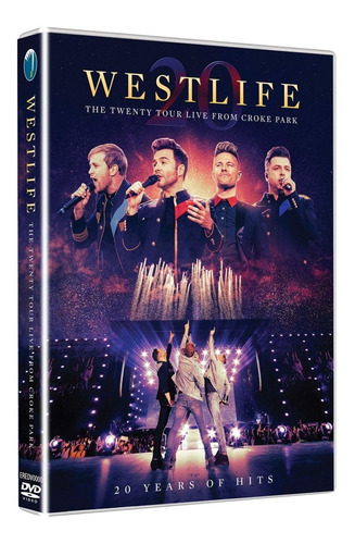 Dvd Westlife The Twenty Tour Live From Croke Park 2020 Imp. Original