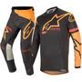 Calça Camisa Kit Alpinestars Racer Tech Compass 2020 Pret/la