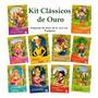 Kit Livro Infantil Clássicos De Ouro 10 Und