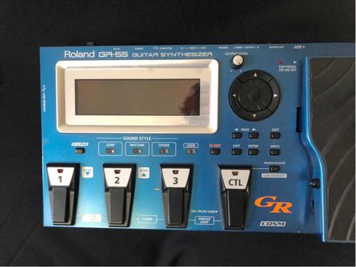 Pedaleira Roland Sintetizadora Gr 55 Semi Nova Original