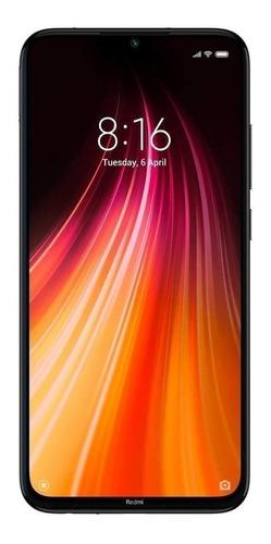 Xiaomi Redmi Note 8 64gb Preto 4gb Ram Global +capa Envio Hj Original