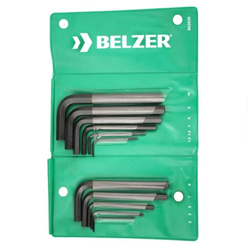 Jogo chave Allen 1,5-10MM com 11 peças-Belzer