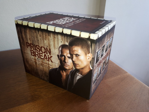 Box Dvd Prison Break Temp. 1 A 4 + Filme  Impecável Original