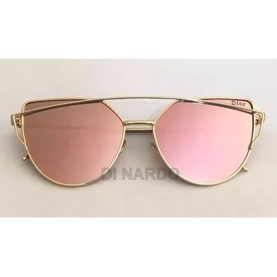 Óculos Christian Dior Starlight Rosa Espelhado Com Case (FOTO REAL) e6677978b4